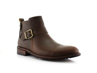 8 5   Brown  Ferro Aldo Dalton MFA606322 Men s Ankle Boots For Everyday Wear