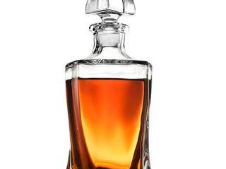 High End Glass Whiskey liquor Decanter European Design Decanter