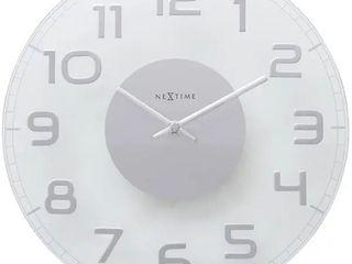 NeXtime Classy Round Wall Clock