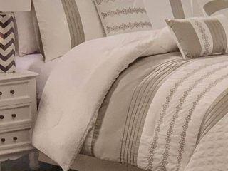 California King  Ferrin luxury Comforter Set