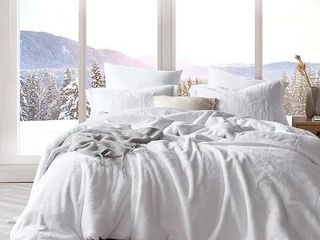 Queen  Chunky Bunny   Coma Inducer Oversized Comforter   Pure White   limited Release Retail 229 99
