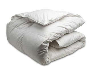 Queen  Canadian Down   Feather Company White Goose Down Comforter  Summer Weight  Retail 187 49