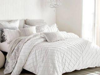 King  Carson Carrington Parkijaure Tufted loop 3 piece Cotton Comforter Set Retail 182 49