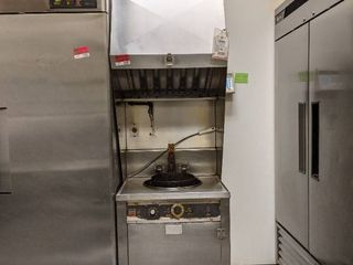 Hoodless Ventless Fryer  Buyer Responsible For Removal