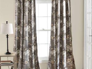 The Gray Barn Dogwood Floral Curtain Panel Pair Retail 93 49