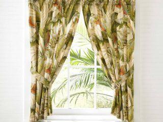Tommy Bahama Palmiers 45  Window Panels   45 l x 36 w