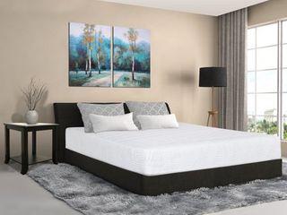 King  Sleeplanner 10 inch Hybrid Gel Memory Foam Innerspring Mattress  Retail 323 92