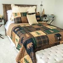 Twin  Your lifestyle by Donna Sharp Brown Bear Cabin Bedding Set
