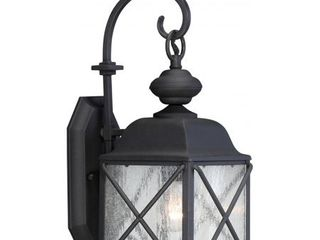 Nuvo lighting 60 5621 Wingate 1 light 17 7 8  Tall Outdoor Wall Sconce With   Black
