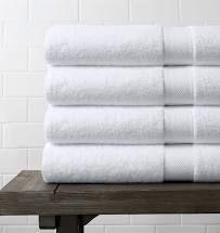 Miranda Haus Eco Friendly Cotton Soft and Absorbent Bath Towel  set of 4