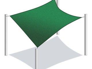 Green  AlEKO 18 X 18 Feet Waterproof Sun Shade Sail Canopy Tent Replacement  Retail 105 99