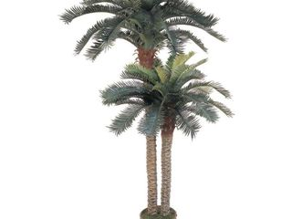 Null  Artificial Double Potted Sago Palm Tree  Retail 175 49
