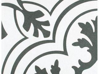 SomerTile 7 75x7 75 inch Thirties Vintage Ceramic Tile