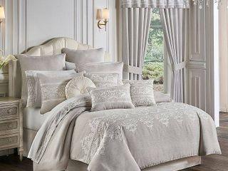King Five Queens Court Maryanne Comforter Set Retail  283 99