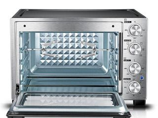 Toshiba MC32ACG CHSS Convection Toaster Oven  Stainless Steel  Retail   127 49