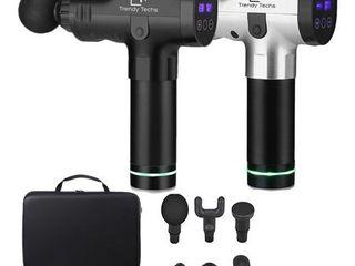Black Trendy Techs Deep Tissue Percussion Handheld Massager Retail  147 76