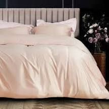 Pink   Queen  NTBAY luxury Super Silky Soft Satin Solid Color Twin   Queen   King Size 3 Piece Duvet Cover Set with Hidden Zipper Closure