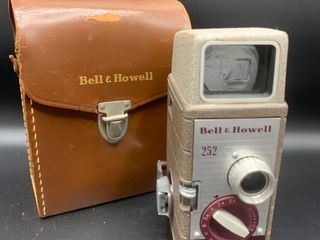 Vintage Bell and Howell 8 mm Projector with leather Case
