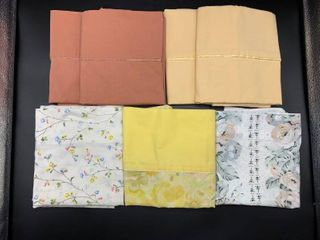 lot of 7 Vintage Pillowcases