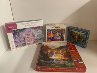 Mixed lot of 4 Puzzles