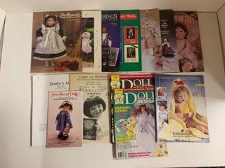 Mixed lot of 16 Doll Catalogs   Includes Vintage