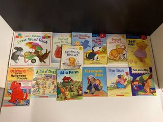 lot of 13 First Reader Books