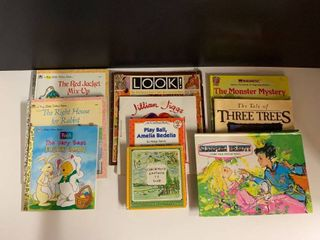 lot of 10 Misc Childrens Books   Includes Golden Books  Pop Up Sleeping Beauty