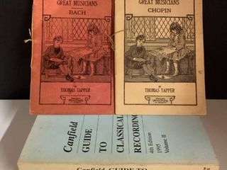 lot of 4   Vintage Music Books