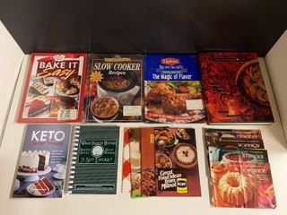 lot of 14 Cookbooks and Pamphlets   Includes 3 Unopened  Junior league of KC  Some Vintage