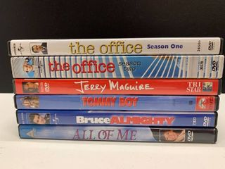 lot of 6 DVDs   Includes The Office Season 1 and 2