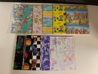 Mixed lot of American Greetings Wrapping Paper