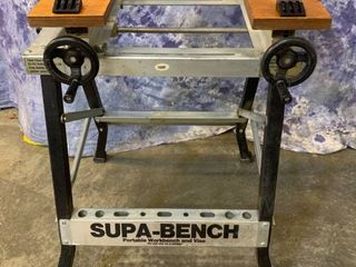 Supa Bench Portable Folding Workbench and Vise