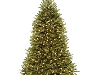 National Tree Company lit Artificial Christmas Tree Includes Pre strung White lights and Stand  7 5 ft  Green