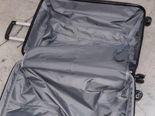 AmazonBasics Hardside Spinner Suitcase luggage   Expandable with Wheels   30 Inch  Black
