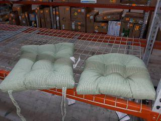 Klear Vu Gripper Jumbo Saturn Rocking Chair Cushion Set  Celadon