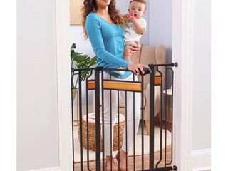 Regalo Extra Tall Home Accents Metal Walk Through Baby Gate
