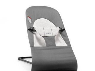 BABYBJARN Bouncer Balance Soft Cotton   Jersey Dark Gray Gray