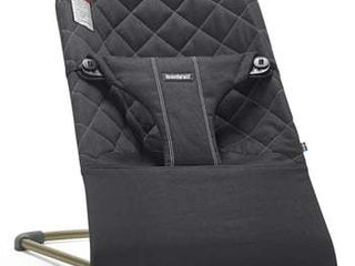 Baby Bjorn Bouncer Bliss   Quilted   Black
