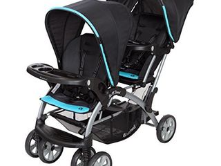 Baby Trend Sit n Stand Double Stroller  Optic Aqua
