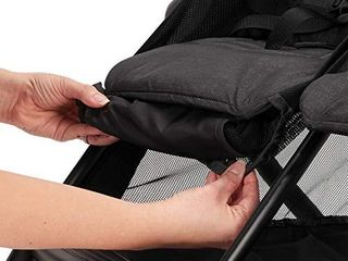 Evenflo Aero2 Ultra lightweight Double Strollers  Compact  Self Standing Folding Design  Shopping Basket Single Child Mode  Seatback Storage Pocket  2 Mesh In Seat Pockets  50 lb Per Seat  Osprey Gray