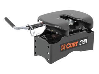 CURT Manufacturing 16565 Fifth Wheel Head  Requires CURT 5th wheel roller or legs for installation  Q25