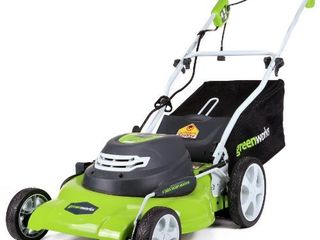 Greenworks 20 Inch 3 in 1 12 Amp Electric Corded lawn Mower 25022