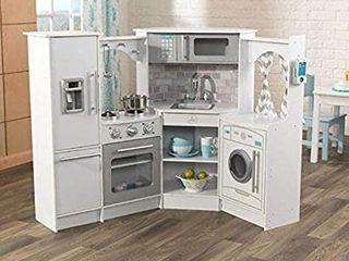 Kidkraft Ultimate Corner Play Kitchen Set  White