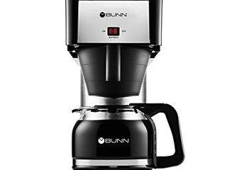 BUNN BX Speed Brew Classic 10 Cup Coffee Brewer  Black