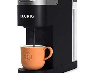 Keurig K Slim Coffee Maker  Single Serve K Cup Pod Coffee Brewer  8 to 12oz  Brew Sizes  Black