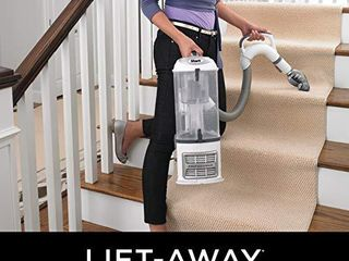 Shark NV356E S2 Navigator lift Away Professional Upright Vacuum with Pet Power Brush and Crevice Tool  White Silver