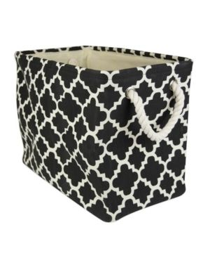 DII lattice Decorative Bin  large  100  Polyester  Multiple Colors Sizes