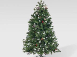 Spruce Unlit Artificial Christmas Tree by Christopher Knight Home