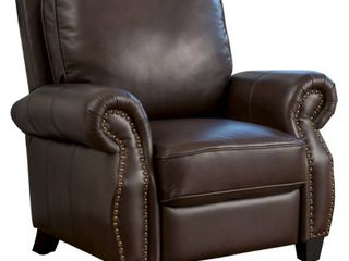Torreon leather Recliner Club Chair by Christopher Knight Home