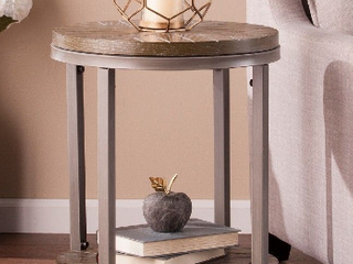 Urban Industrial End Table